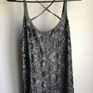 Sequin Hollister Dress NWOT